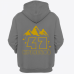 Именная толстовка с необычным шрифтом и силуэтами гор #75