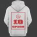 Именная толстовка с революционным шрифтом и советской атрибутикой #79