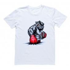 """Футболка для боксеров с принтом """"Dog boxing"""""""