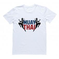 """Футболка для боксеров с принтом """"Muai Thai"""""""