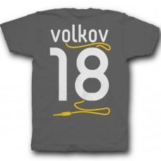 Именная футболка с аккуратным шрифтом и кабелем от наушников #38