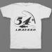 Именная футболка с печатным шрифтом и атрибутами рыбалки #70