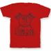 Именная футболка с руническим шрифтом и атрибутами викингов #74