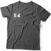 Именная футболка с рваным шрифтом и рукой зомби #68