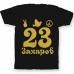Именная футболка с хиппи шрифтом и знаками свободы #57