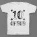 Именная футболка с шрифтом из игральных карт #77