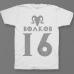 Именная футболка с шрифтом из игры Diablo #52