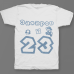 Именная футболка с шрифтом из игры Super Mario #56