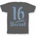 Именная футболка со средневековым шрифтом и кинжалом #51