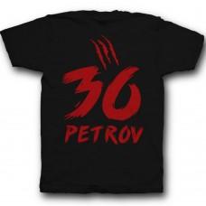 Именная футболка со страшным шрифтом #6