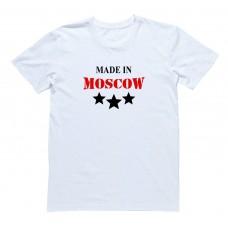 "Футболка Я Русский с надписью ""Made in Moscow"""