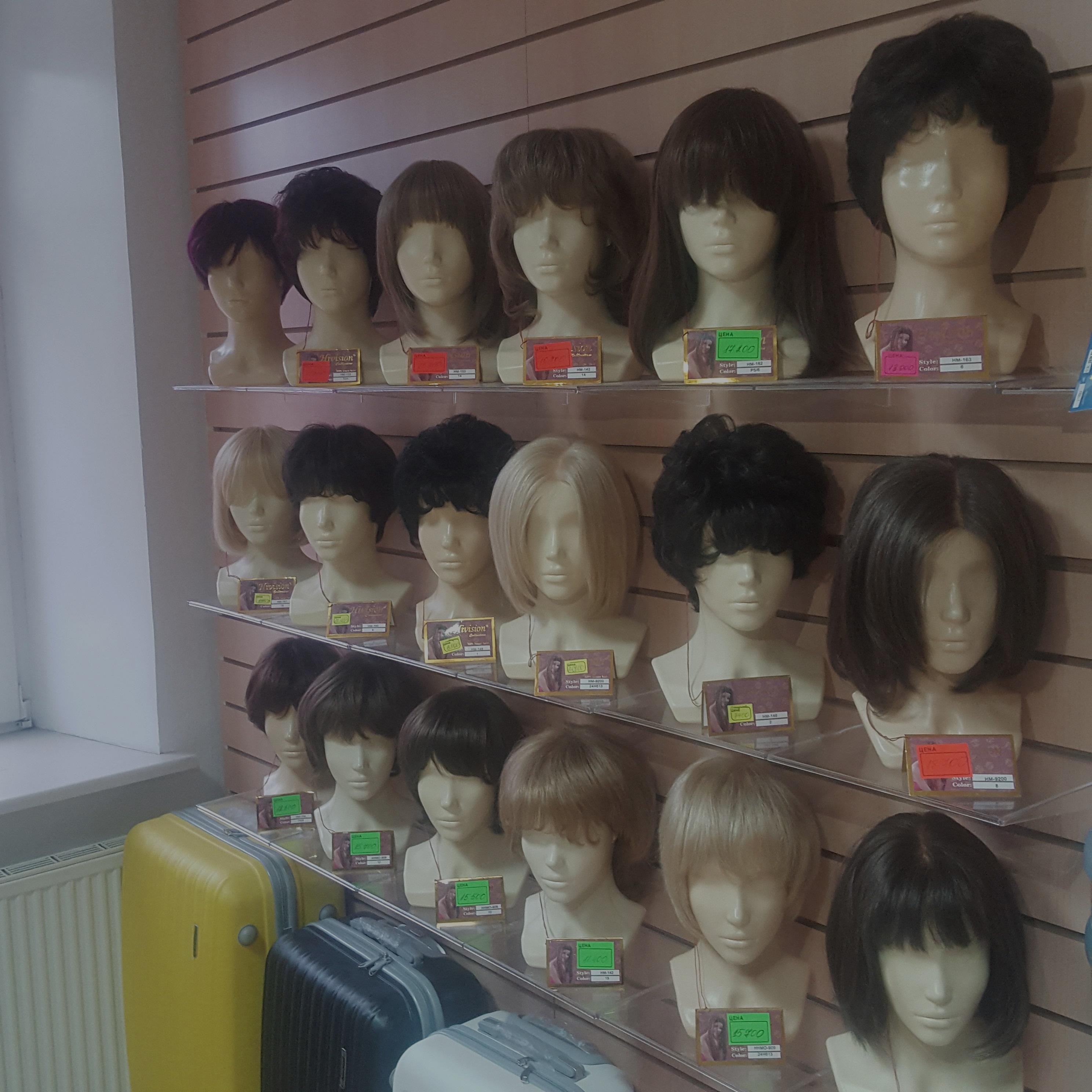 Магазин париков на сайте kivimart.ru
